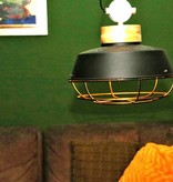 Lotus Lighting Lotus Lighting hanglamp ijzer Mumbai zwart