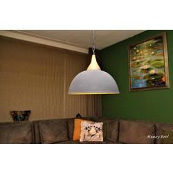 Hanglamp Athene Hout Betonlook