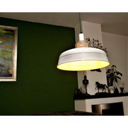 Hanglamp Helsinki Hout Wit