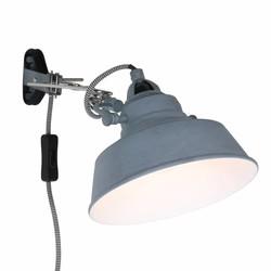 Verstelbare Wandlamp Roan Grijs