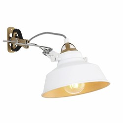 Verstelbare Wandlamp Roan Wit
