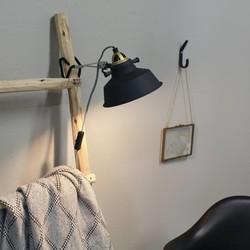 wandlamp Roan zwart