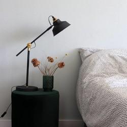 Verstelbare Tafellamp Roan Zwart