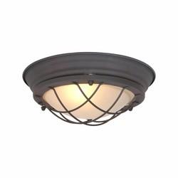 Plafondlamp Kaj 1-lichts Bruin