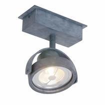 Opbouwspot Max 1-lichts grijs