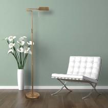 Vloerlamp Jax LED brons