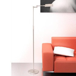 Vloerlamp Karl LED Staal
