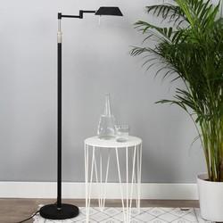 Vloerlamp Karl LED Zwart