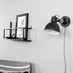 Verstelbare Wandlamp Dominique Zwart