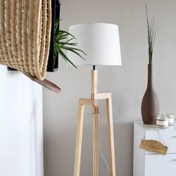 Vloerlamp Bess wit