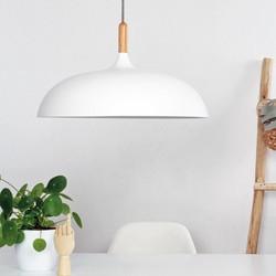 Hanglamp Hella 1-lichts Wit