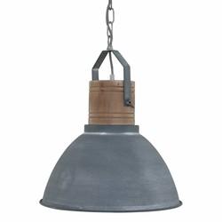 Hanglamp Denzel 1-lichts Grijs