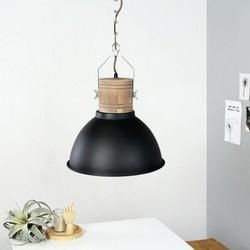 Hanglamp Denzel 1-lichts Zwart