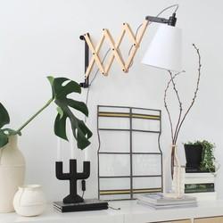 Uittrekbare Wandlamp Liv Wit