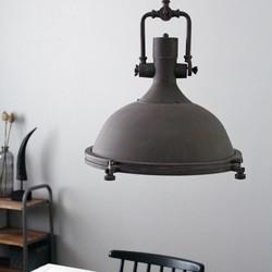 Hanglamp Alta 1-lichts Bruin