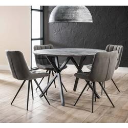 Ronde tafel Jools Ø120cm betonlook