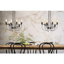 Hanglamp Seattle 6-lichts Zwart