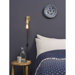 Minimalistische Wandlamp Madrid Goud