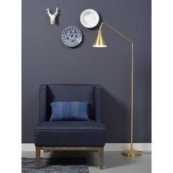 Vloerlamp Lyon goud ijzer