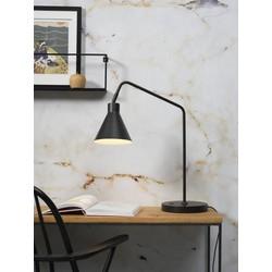 Tafellamp Lyon zwart ijzer