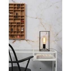 Moderne tafellamp Antwerp zwart ijzer