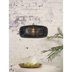 Hanglamp Palawan 1-lichts Zwart