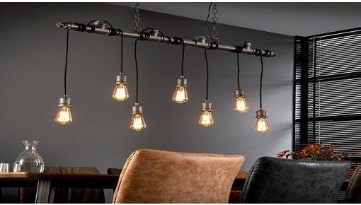Industriële hanglampen voor iedere ruimte!