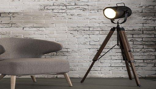 Zoekt u landelijke vloerlampen? Kies nu uw houten vloerlamp!