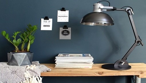 Zoekt u tafellampen? Kies nu uw stoere industriële tafellamp