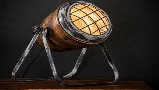 Zoekt u landelijke tafellampen? Kies nu uw houten tafellamp!