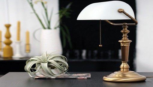 Zoekt u klassieke tafellampen? Kies nu uw klassieke tafellamp