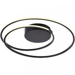 Plafondlamp Ophelia 24W Zwart