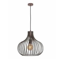 Hanglamp Aglio Ø38 cm Bruin