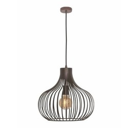 Hanglamp Aglio 38cm Bruin/Brons