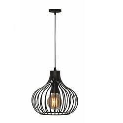 Hanglamp Aglio 38cm zwart