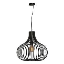 Hanglamp Aglio 48cm zwart