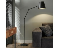 Vloerlamp Tigris verstelbaar / charcoal