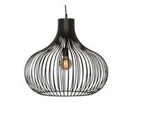 Moderne hanglamp Aglio Ø60 cm zwart