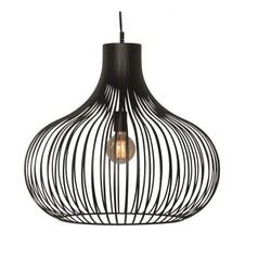 Hanglamp Aglio Ø60 cm Zwart