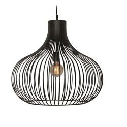 Hanglamp Aglio 60cm zwart