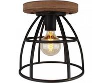Industriële - Plafondlamp - Zwart - 30 cm - Birdie
