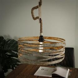 Hanglamp Columbus Ø40 cm Verweerd zink