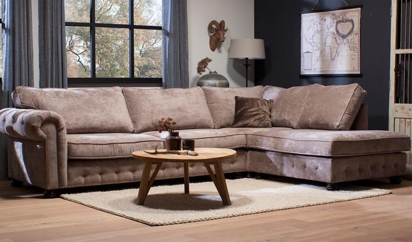Mooie Landelijke Hoekbank.Lifestyle Hoekbank Landelijke Stoere Hoekbank San Remo Van Urban Sofa