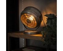 Industriële - Tafellamp - Oud zilver - 29 cm - Wing