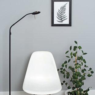 Vloerlamp Zenith LED zwart