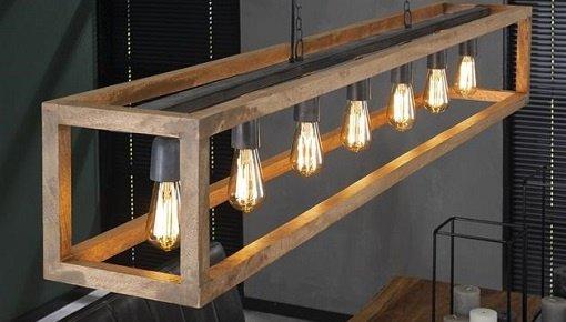 Sfeervolle landelijke industriële lampen. Bekijk onze vloerlampen en hanglampen