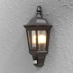 Buiten wandlamp Firenze Bewegingsmelder Zwart