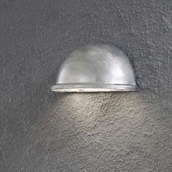Buiten wandlamp Torino Kwartrond Gegalvaniseerd staal