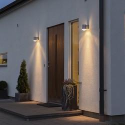 Buiten wandlamp Modena 1-lichts Gegalvaniseerd