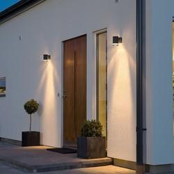 Buiten wandlamp Modena 1-lichts Zwart